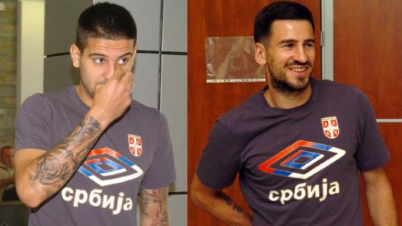 Двама от сърбите се били в съблекалнята