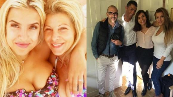 Роналдо свалил дъщерята на мениджъра си (галерия)