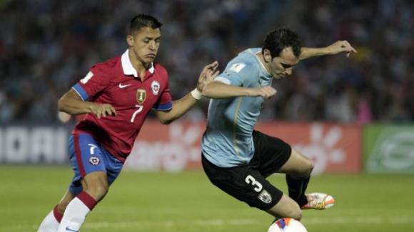 Уругвай и Парагвай бият в световните квалификации