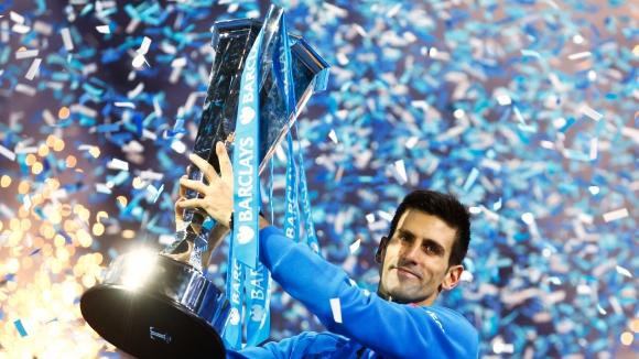 Джокович се разправи с Федерер и спечели финалния Мастърс (галерия)