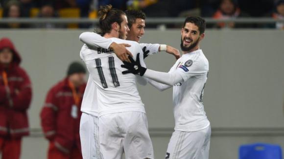 """Реал Мадрид потрепери в Лвов, но опази върха в група """"А"""""""