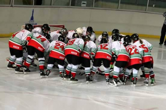 Женският национален отбор по хокей на лед със своя официална страница