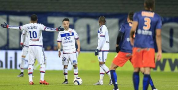Разочарован Лион се издъни срещу Монпелие