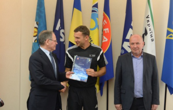 Шевченко влиза в щаба на украинския национален отбор