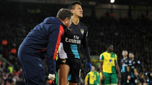 Плашеща статистика: Всички в Арсенал без един са били контузени през 2015 г.