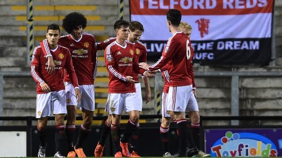 Фелаини блести срещу втория отбор на Ливърпул (видео)