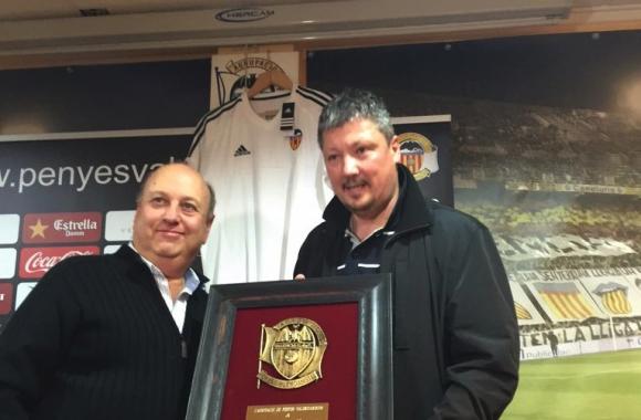 Любо Пенев беше официален гост на феновете на Валенсия