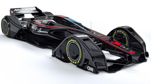 Макларън показаха бъдещето на Формула 1 (Галерия)