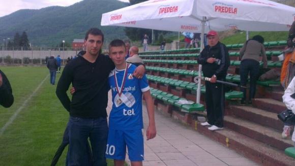 Рома прояви интерес към талант от школата на Левски