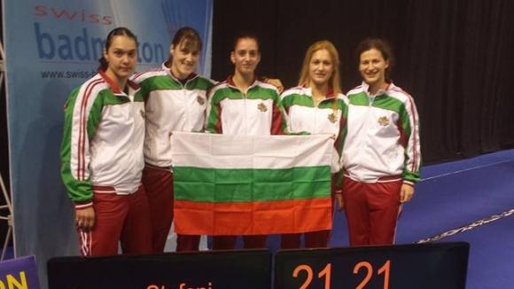 Тежък жребий за жените на европейското отборно първенство по бадминтон
