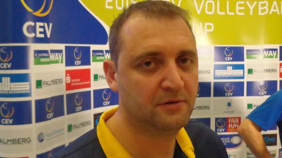 Иван Петков: Силно се надявам, че догодина ще можем реално да мерим сили с отбори като Шверинер