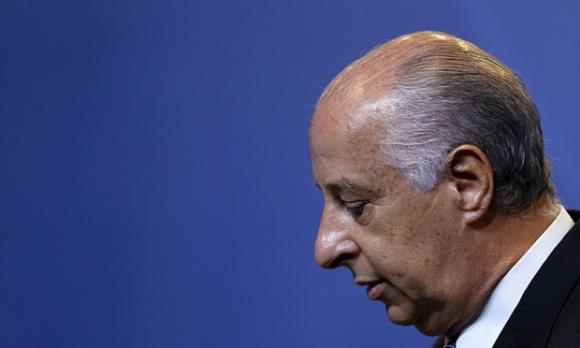 Поискаха оставката на шефа на футбола в Бразилия