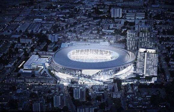 Тотнъм получи зелена светлина за новия стадион