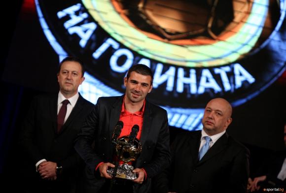 За първи път без официална церемония за Футболист на годината