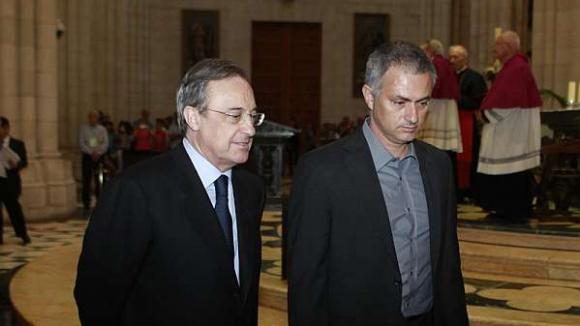 Перес: Имам добри спомени от Моуриньо, но на този етап той няма да се връща в Реал