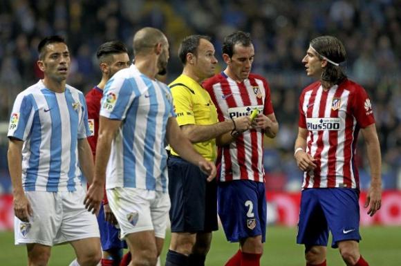 Малага спря десет от Атлетико Мадрид за върха (видео)