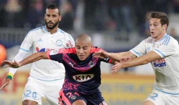 Бордо и Марсилия си размениха два бързи гола, но не се победиха