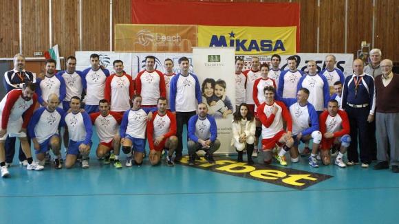 Мачът на звездите във Volley Mania събра 1124 лева за деца с аутизъм