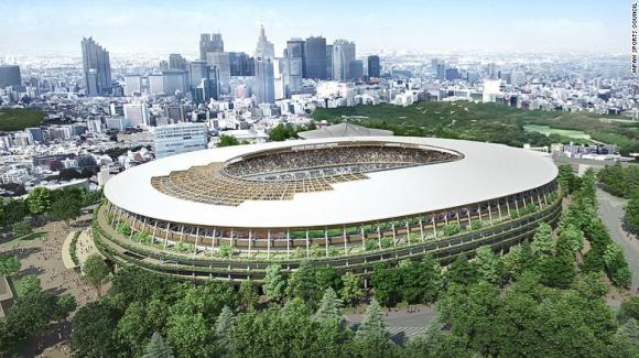 Токио избра нов проект за олимпийски стадион за Игрите през 2020 година