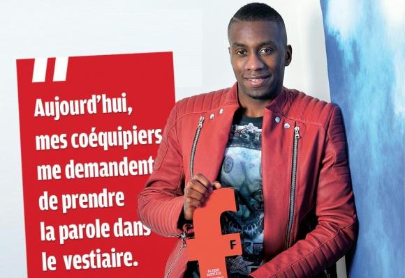 """Блес Матюиди е номер 1 във Франция в класация на """"Франс Футбол"""""""