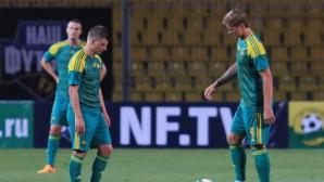 Аршавин и Павлюченко разбиха отбора на Ясен Петров
