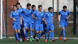 Левски U17 спечели дербито със Славия и се засили към върха (видео+галерия)