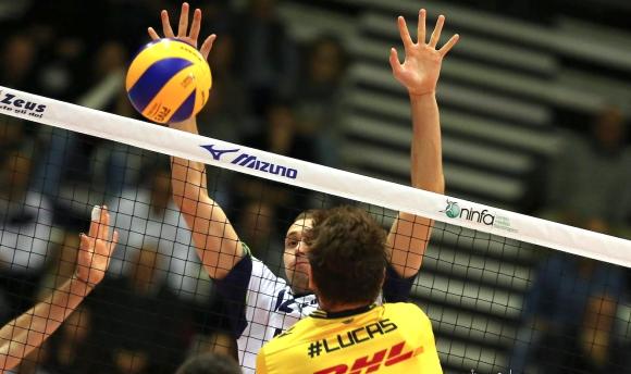 Виктор Йосифов стана блокировач №1 в Италия