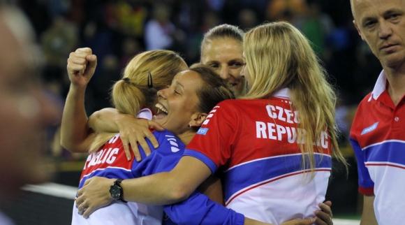 """Чехия срещу Франция на финала на """"Фед Къп"""""""
