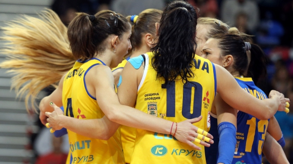"""Волейболистките на Марица се """"заклеха"""""""
