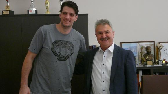 Тодор Алексиев се срещна с кмета на Монтана