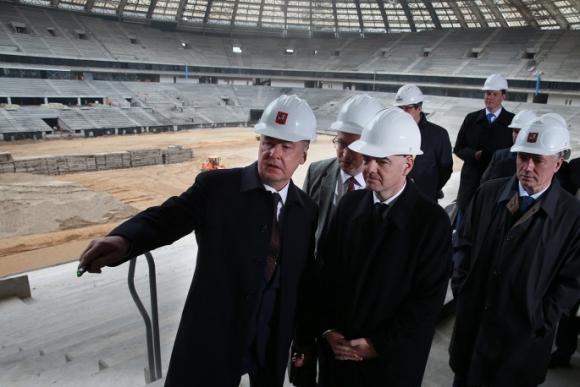 Инфантино с първо посещение в Русия като президент на ФИФА