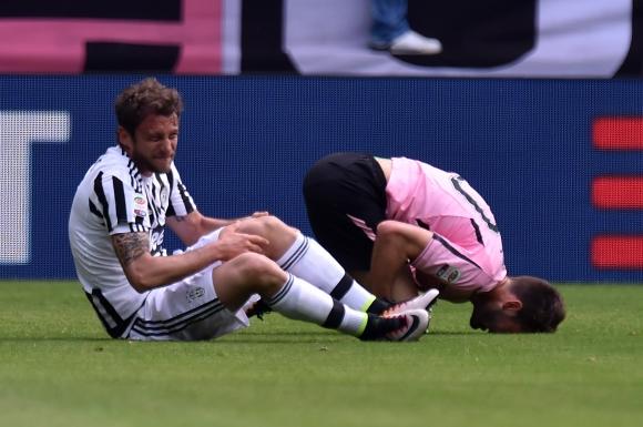Оперираха коляното на Маркизио