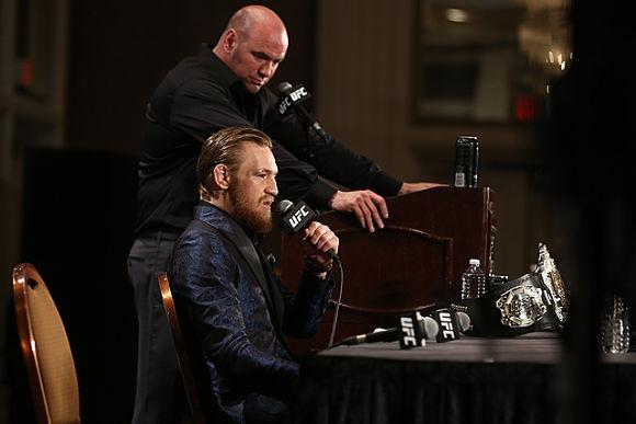 Дейна Уайт: Макгрегър няма да се бие в UFC 200