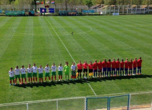 Девойките до 16 г. спечелиха турнира на УЕФА в Албена
