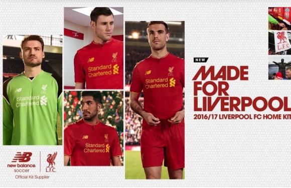 Ето как ще изглеждат новите екипи на Ливърпул