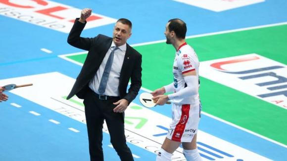 Радо Стойчев: Победата е важна, но Модена все още води в серията