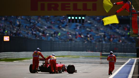Фетел с наказание за Гран При на Русия заради смяна на скоростна кутия
