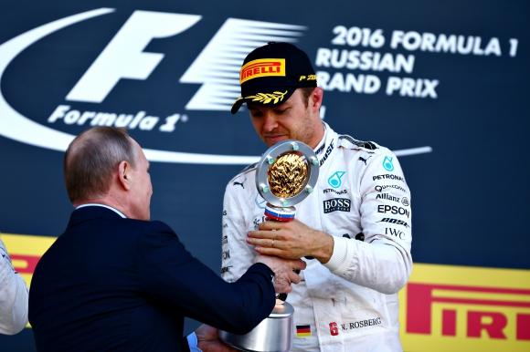 Нико Розберг спечели с лекота Гран При на Русия