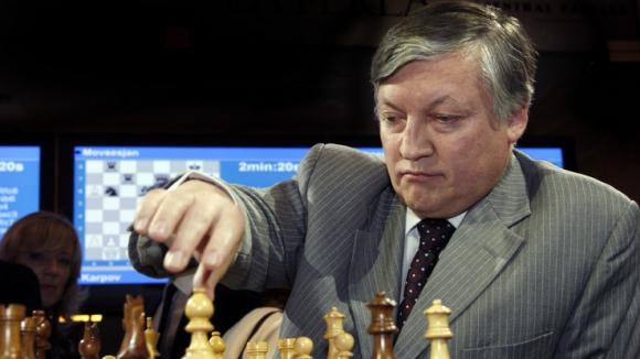 Легендарният Анатолий Карпов пристига в Поморие
