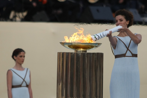 Олимпийският огън пристига в Бразилия