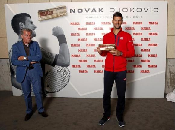 """Джокович получи специална награда от """"Марка"""""""