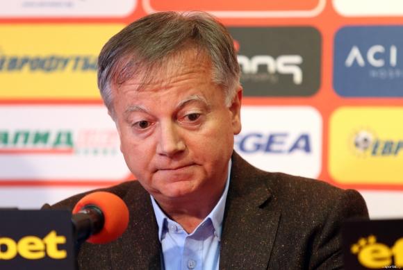 Инджов: На практика не спираме да оздравяваме ЦСКА