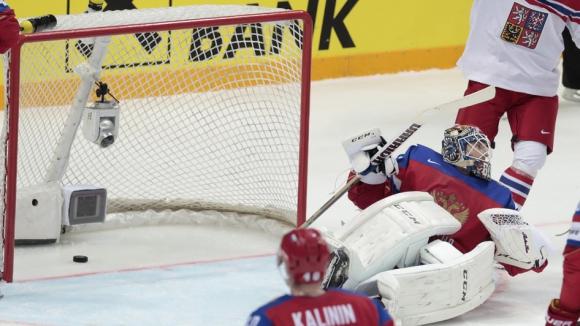 Чехия разби Русия на световното по хокей