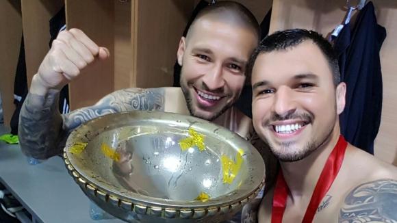 Божинов с първи трофей в кариерата (видео+снимки)