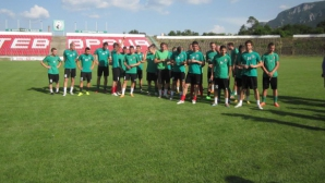 Величков подгони със здрави тренировки играчите на Ботев (Враца)