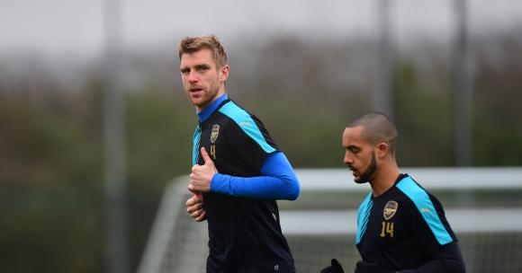 Новият капитан на Арсенал изглежда ясен