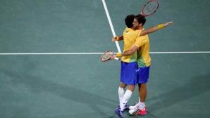 Бразилска двойка изхвърли братята Мъри от Рио 2016