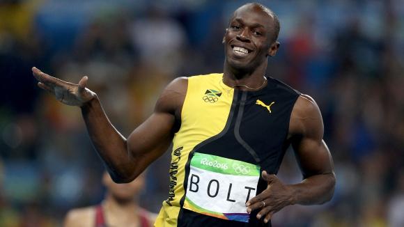 Болт си е Болт - олимпийски шампион на 100 м за трети пореден път (ВИДЕО + ГАЛЕРИЯ)