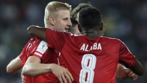 Австрия измъкна трите точки в Тбилиси (видео)