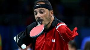 Египтянин без ръце е сензация в тениса на маса